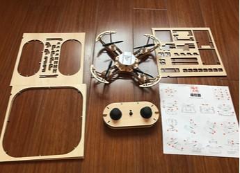 给小飞行员的礼物——源木工坊4合1限量高级版无人机
