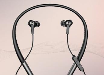 山灵最新款MW100颈挂式蓝牙耳机