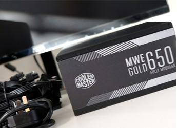 酷冷至尊MWE 金牌650W全模组电源开箱