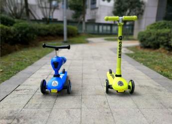 陪伴成长,快乐滑行——酷骑Velo Kids1儿童滑板车试玩