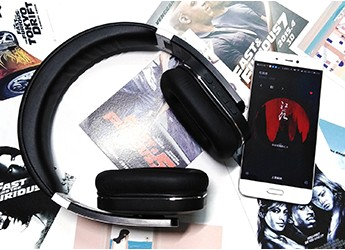 多场景使用,可NFC链接和双模降噪——HRF581蓝牙耳机
