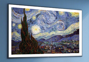 小米壁画电视65寸测评:挂在墙上美如画