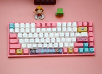动漫定制、无线双模,AKKO3084航海王乔巴机械键盘上手体验
