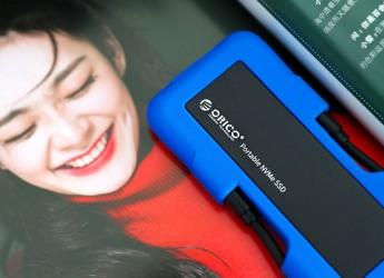 户外存储设备推荐:ORICO迅龙-甲三防固态硬盘体验