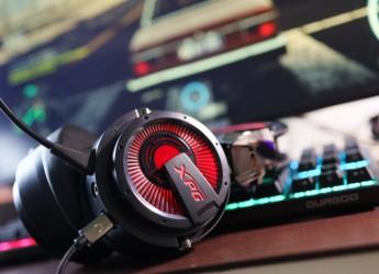 电竞界的异类耳机,静电加动圈!体验XPG PRECOG游戏耳机