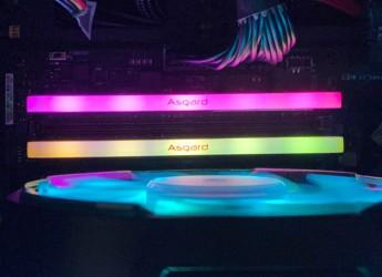 让机箱更亮起来,让电脑跑快起来,珍藏阿斯加特高频灯条开用记