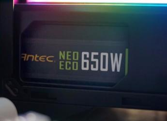 全日系电容,用料扎实——安钛克NE650W金牌模组电源测评