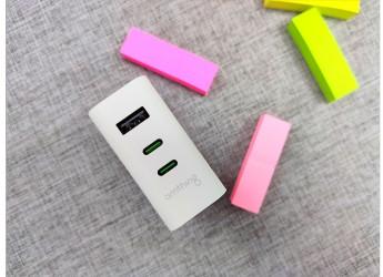 三口多协议,满足你的充电需求,omthing 65W氮化镓PD充电器体验