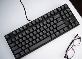 经典之作,小巧实用,雷柏V860机械键盘体验
