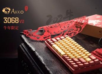 首款TTC兄弟轴量产键盘,AKKO3068V2牛年新春版开箱