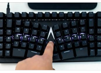 颠覆人体工学机械键盘理念的X-BOWS LITE机械键盘轻体验