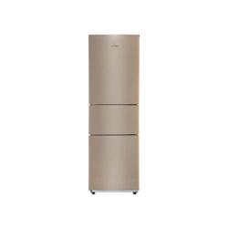 美的 213升 节能静音家用三门小冰箱