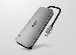 雷柏XD200 USB-C 10口扩展坞