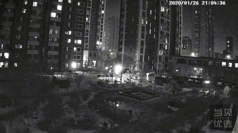 小区邻居家进了贼,吓得我抓紧安装了个360户外摄像头看家护院