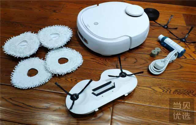 懒无止境 能自己洗抹布的云鲸J1扫拖机器人