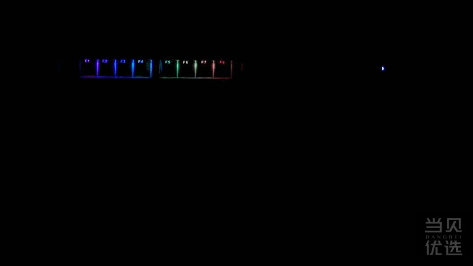 我的第1把银轴 - 杜伽K310 RGB NS机械键盘