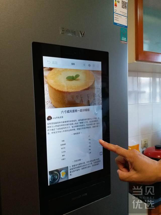 超大容量加超大智能屏,理想的对开门冰箱就应该长这样
