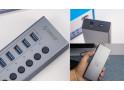 告别电脑接口紧缺,试试这个ORICO 7口USB3.0集线器